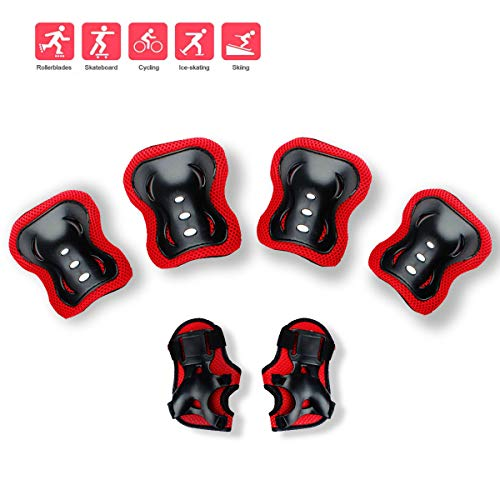 Review Of Feeke Knee Pads for Kids Knee and Elbow Pads Kids Protective Gear Adjustable Elastic Strap...