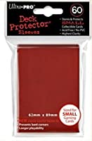 Ultra Pro Deck pochettes de protection d'écran-Rouge (Mini) 60