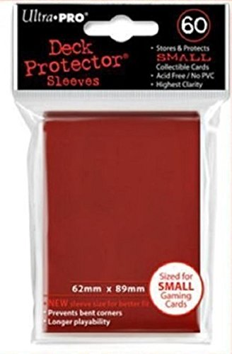 4x ultra pro-deck protector-small sleeves-Black-Negro 4x 60 sleeves