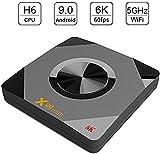 Caja de TV WiFi Red Set Top Box, la TV Box Jugador, 3G + 32G Cliente Streaming con Infrarrojos del Mando a Distancia para el Cine en casa y Juegos, 4G + 32G,Negro,4g+32g