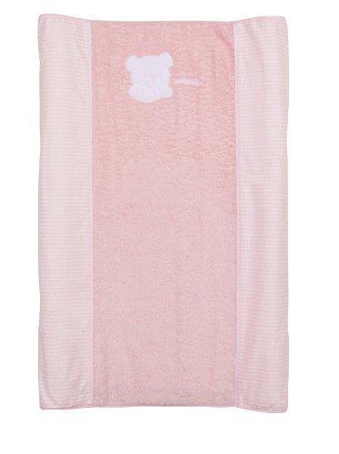 Petit Praia Orson Rosa E7391170 - Vestidor bañera 70 x 46,5 x 8, color rosa y blanco
