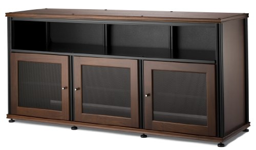 Salamander Designs Synergy Triple Wide A/V Cabinet with Doors and a Center Channel Opening