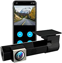 Nemora WiFi Mini Car Dash Camera, Full HD1080p, with Night Vision & Parking Mode, 170° Wide Angle, G-Sensor, Loop Recording with Rotatable Lens