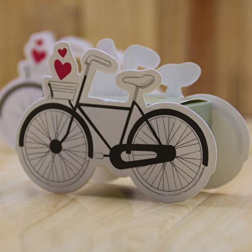 Yiwa Bonbondoosje voor snoepjes, 50 stuks, voor bruiloften, bruiloften, dozen