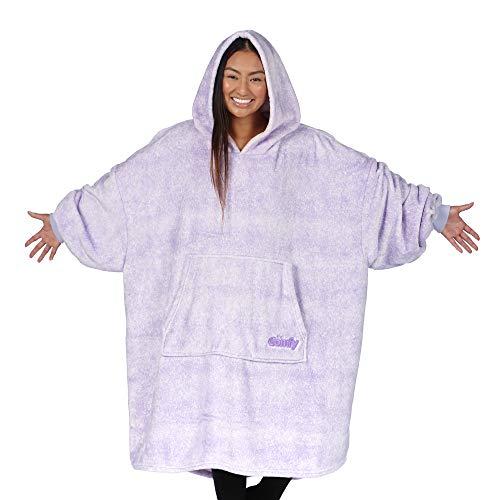 Size: 80x60x1 - TELAVC8014VPL Grey - ENCOMPASS Collection KAVKA Designs Collegno Fleece Blanket,