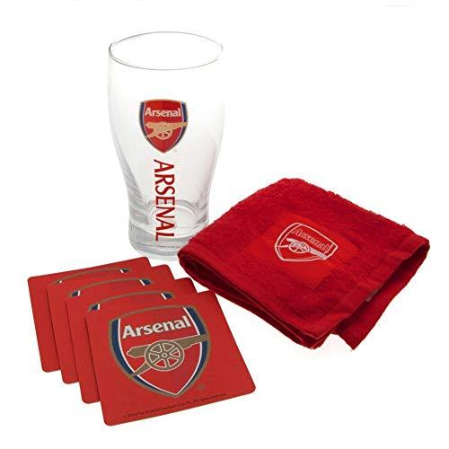 Arsenal FC Football Club Mini Bar Set Official Football Merchandise
