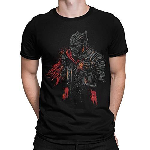 Camisetas La Colmena 2001-Dark Souls - Red Knight (Dr.Monekers)