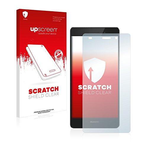 upscreen Schutzfolie kompatibel mit Huawei P8 Lite 2015/2016 – Kristallklar, Kratzschutz, Anti-Fingerprint