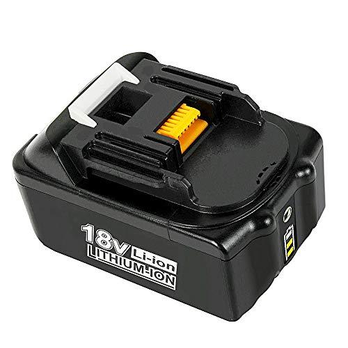 BL1860B 6,0Ah Li-ion Ersatzakkus für Makita 18V BL1850 BL1850B BL1860 BL1830 BL1840 BL1845 BL1815 BL1820 BL1835 194205-3 LXT-400 für Makita 18V Akku mit Indikator