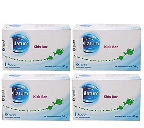 oilatum kids bar - dry skin soap for kids(pack of 4)50g