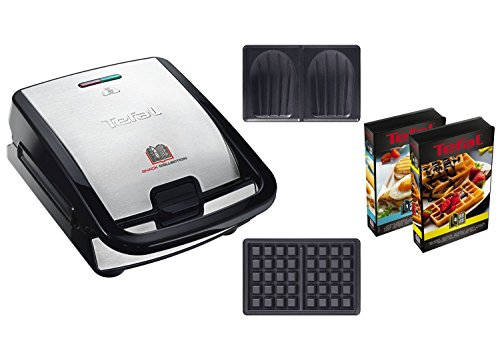 Tefal SW853D12 Snack Collection Machine à Gaufres et...