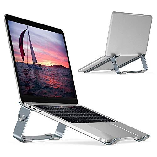 Soporte Ajustable para computadora portátil y netbooks, Base para Laptop Aluminio Desmontable Plegable para MacBook Air, MacBook...
