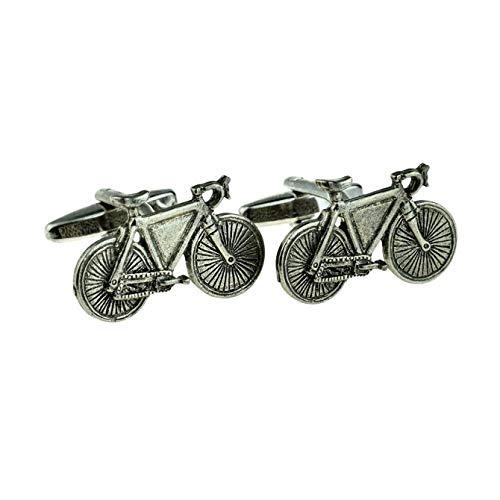 Manschettenknöpfe, Motiv: Fahrräder