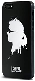 KARL LAGERFELD Cell Phone Case for iPhone 5/5s - Retail Packaging - Black