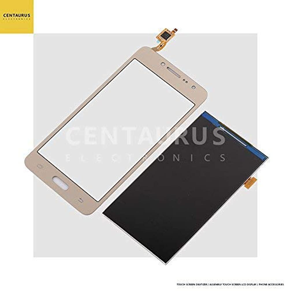 New For Samsung Galaxy J2 Prime G532F G532G G532M Grand Prime+ G532F/DS G532FD Touch Screen Digitizer Glass + LCD Display Replacement (Touch Screen + LCD Display Gold)