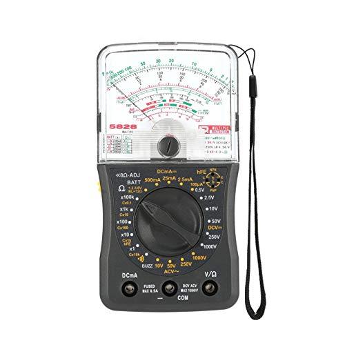 Ballylelly Multímetro analógico de Mano Voltímetro de CA/