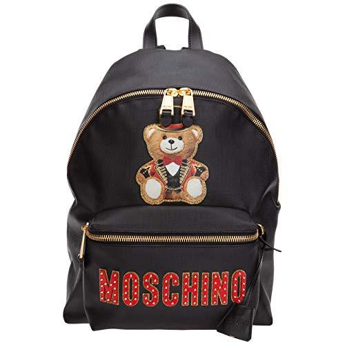 Moschino zaino Roman teddy bear donna nero