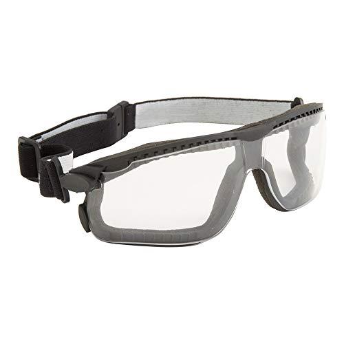 3M™ Maxim™ Hybrid, lente trasparente in PC (DX), banda elstica in nylon, ventilazione indiretta, 13330-00000M