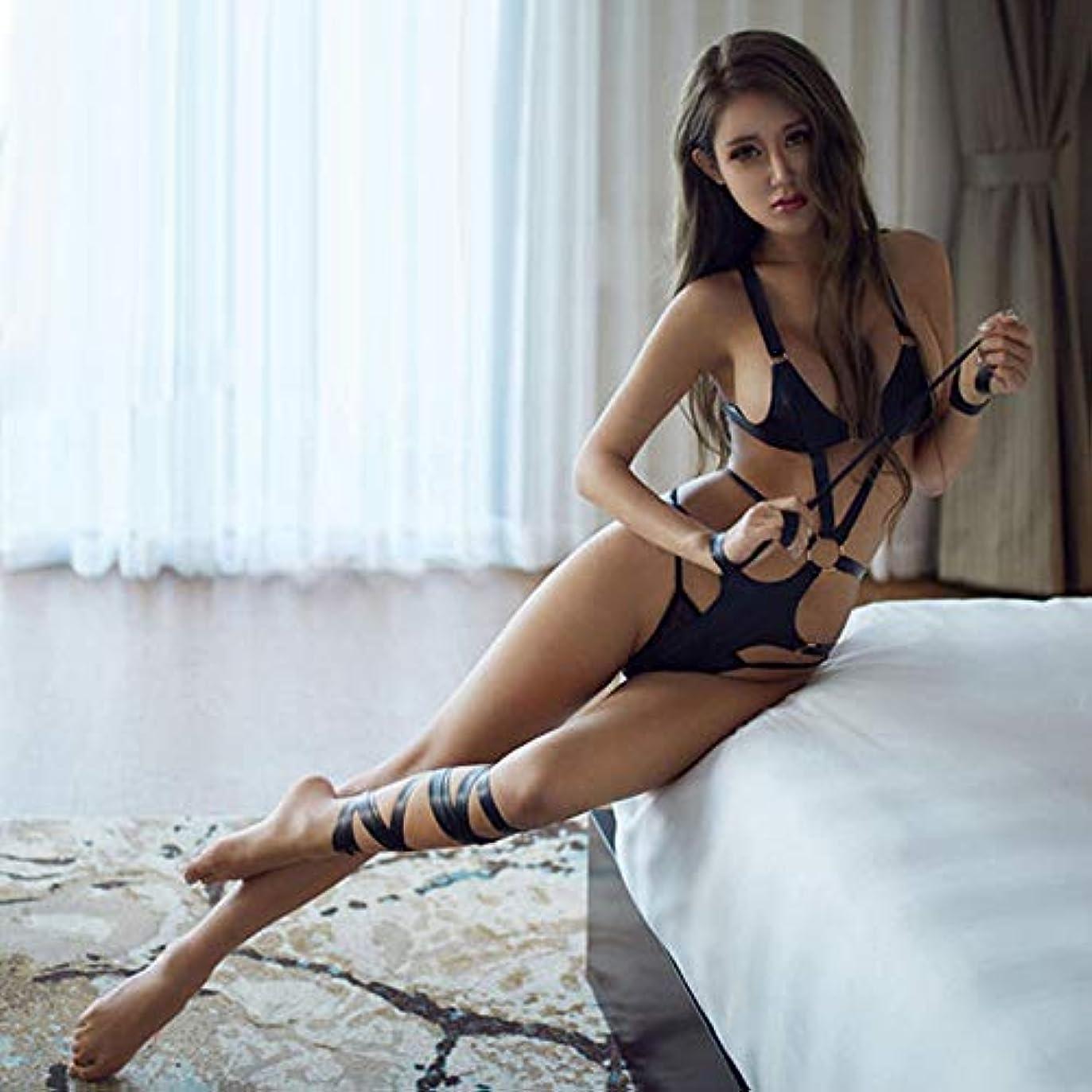 対象自発的シェーバーXiaopf 新しいエロ女性のセクシーなランジェリー下着セクシーな熱意色中空タイツロールプレイエロ下着エロティックな服
