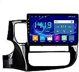 AEBDF Android 10 GPS Navegación para Mitsubishi Outlander 2013-2018,2.5D Pantalla táctil de Radio estéreo, Reproductor Multimedia de Bluetooth Sat Nav,WIFI2+32G