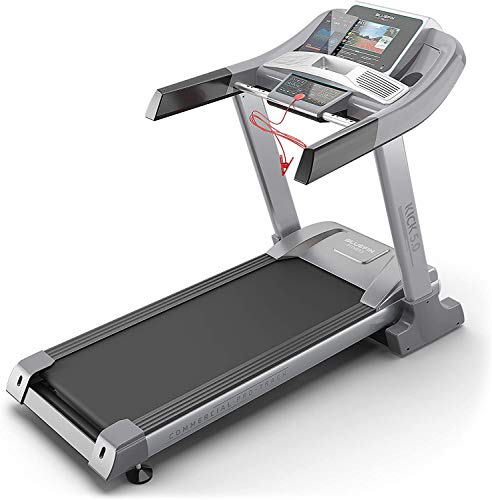 Bluefin Fitness Kick 5.0. Folding Treadmill | 24 km/h + 5.0 HP + 20 Incline Levels | Home Gym Equipment | 10.1' TFT Screen | Heartrate sensors + Built-in Shock Absorption | App Integration