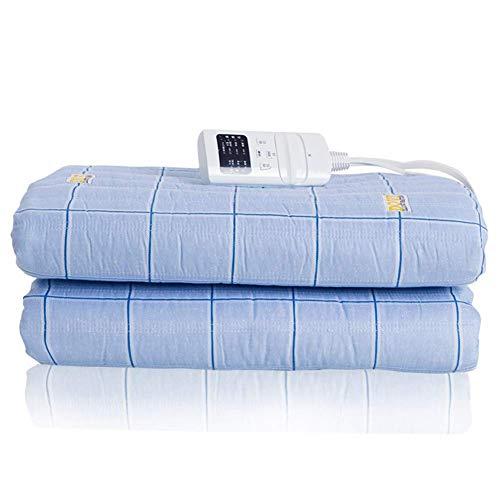 Elektrische dekenverwarming Bodywarmer Bedmatras 3 versnellingen Temperatuurregeling Elektrische verwarming Dekens voor bedbank Twin Size (150 * 180cm) Oververhittingsbeveiliging
