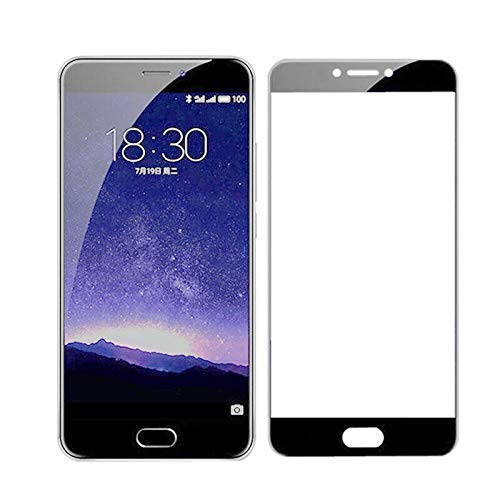 【3 pezzi】Vetro temperato nero 3D, per Meizu M3 M5 M3S M5S MX6 M6 Nota Pellicola protettiva per telefono, per Meizu U20 U10 Pellicola salvaschermo-Per Meizu M3S
