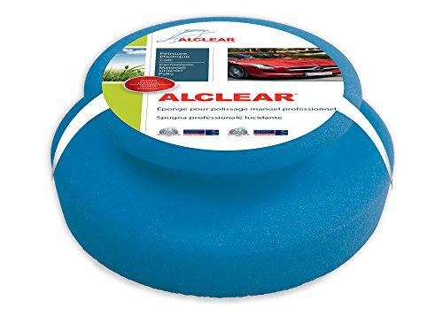 ALCLEAR 5713050M spugne di Microfibra per lucidatura, 130x50 mm, tampone Pad applicatore per Cere, Lucidi, Pulizia Vernici, lucidatura Auto Invece della lucidatrice