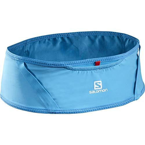 Salomon Pulse Belt Cinturón de Running, Unisex Adult, Azul, M