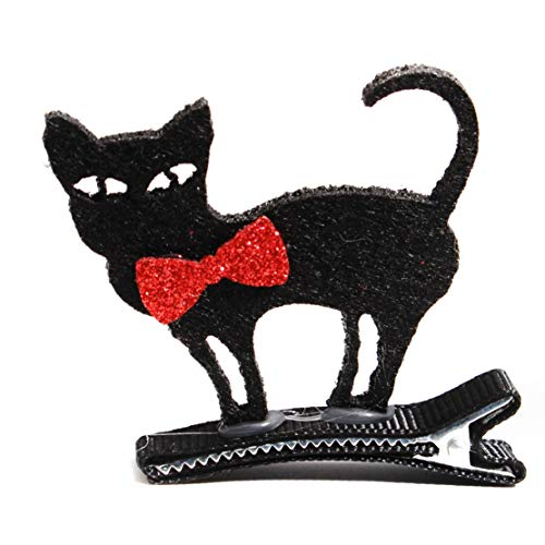 Botreelife Personnalisé 5D épingle à cheveux Party Dressup Hairband Unique Hairband Halloween Funny Gift Hairband,Fly black cat