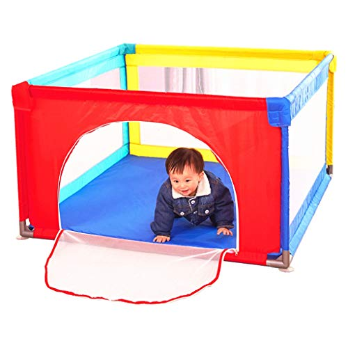 WSGZH Clôture De Sécurité De Parc, Barrière De Jeu pour Enfants Clôture De Sécurité pour Bébé (Conception : B, Taille : 100 * 100cm)