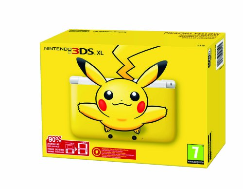 Nintendo - 2201699 - BUNDLE EDIZIONE LIMITATA - NINTENDO 3DS XL GIALLO PIKACHU