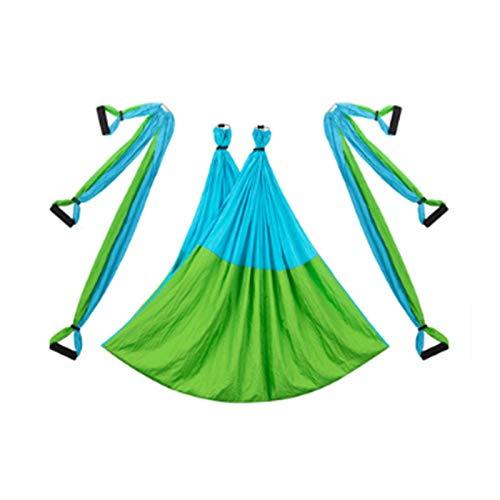 AIJIANG Hamaca Yoga Antigravedad 2,5 * 1,5 M, Dispositivo Tracción Aérea Columpio Volador Conjunto Hamacas Yoga Gimnasio En Casa Cinturón Colgante Trapecio Hamaca de Yoga aérea
