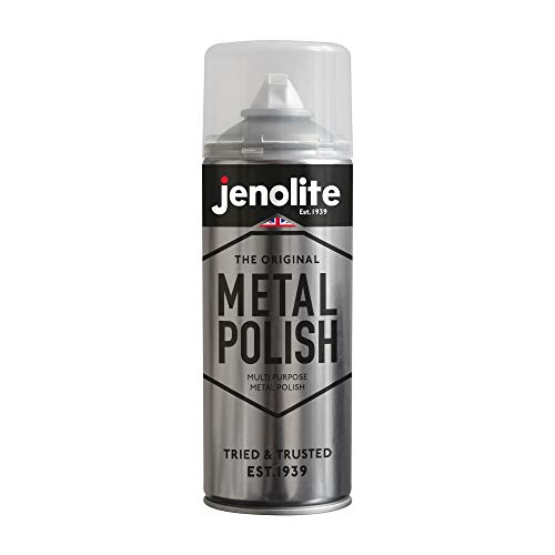 JENOLITE Metal Polish Aerosol - Industrial Grade Polishing Foam - Suitable...