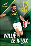 Maxi poster Wille le Roux officiel Springbok Rugby (61 x 91,4 cm)