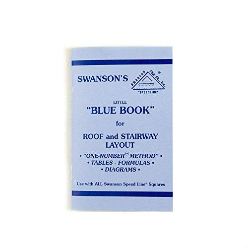 Fantastic Prices! Swanson Tool P0110 Little Blue Book of Instructions For Roof & Stairway Layout