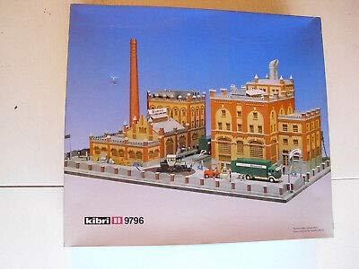 Kibri 9796 HO Scale Factory Brewery Complex Building Kit