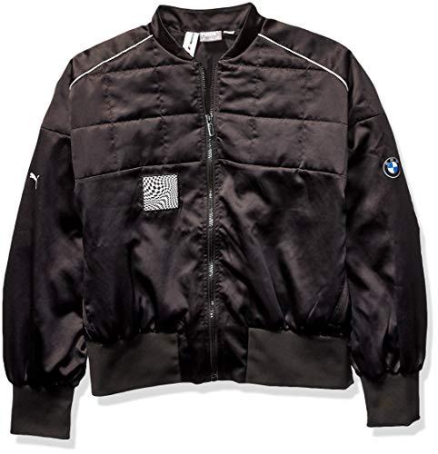 PUMA Damen BMW Motorsport Street Jacket Fleecejacke, Black, X-Large