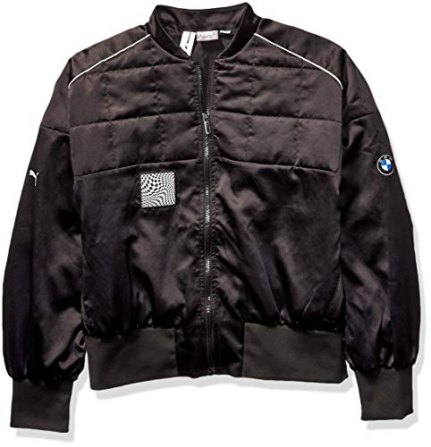 PUMA Damen BMW Motorsport Street Jacket Fleecejacke, Black, X-Large