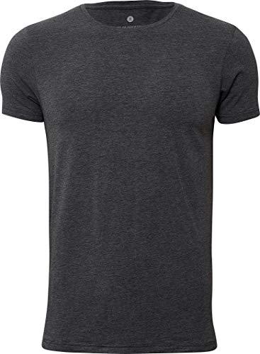 Jbs of Denmark ® T-Shirt Heren Ronde Hals Bamboe Katoen Stof Ultra Soft Touch en Extreem Ademend (Geen Jeukende Tag) Sneldrogend