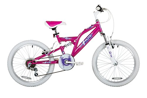 Sonic Girls Spin Flite Bike, Pink/White, 20 Inch Wheel
