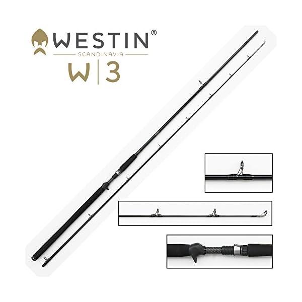 Westin W3 PowerCast T Baitcasting Rod 40-130g