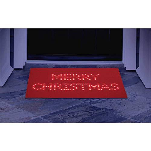 Fußmatte mit Beleuchtung Polarlite PDE-05-001 PDE-05-001 LED fest eingebaut Rot