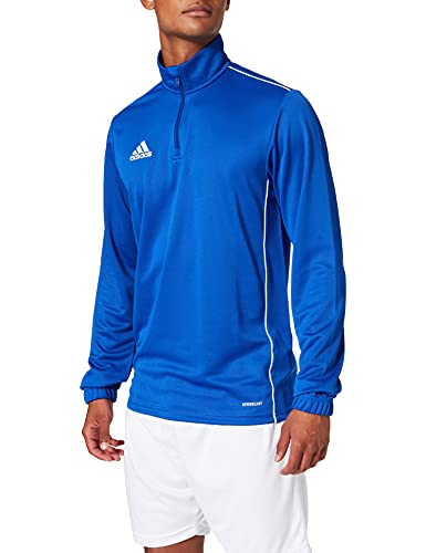 adidas CORE18 TR Top Sudadera, Hombre, Bold Blue/White, 2XL