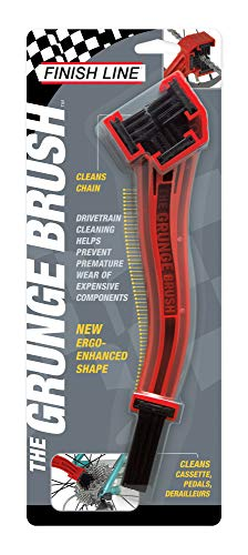 Finish Line Grunge Brush Chain: Gear and Chain Cleaning Tool