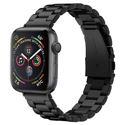 Spigen Modern Fit Compatibile con Cinturino Apple Watch per 42mm / 44mm Series 5 / Series 4 / Series 3/2/1 - Nero