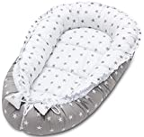 Baby Nest Baby Pod Baby Cushion Cocoon Baby Bed Sleep Pod Newborn Sleeping Pod Travel Cot Bed Toddler Portable Bed Travel Cot Mattress Newborn Lounger Hypoallergenic Breathable Foam Mattress