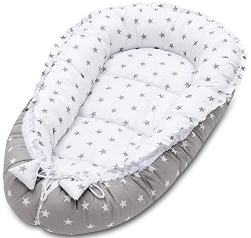 Baby Nest Pod Cojín Cocoon Bed Recién Nacido Sleeping Pod Travel Cuna Cama Colchón Tumbona...