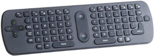 GeneralKeys Air Mouse: 3in1-Funk-Air-Maus mit Multimedia-Tastatur & Fernbedienung (Air Mouse Fernbedienung)