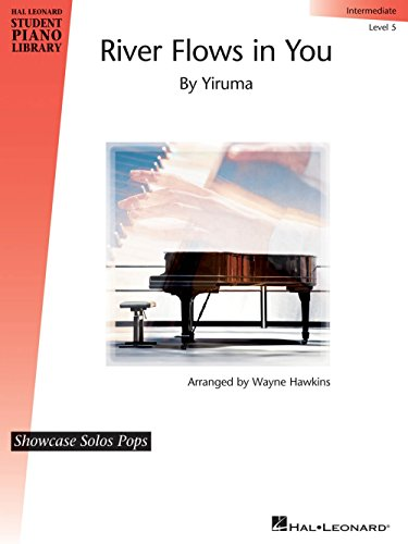Hal Leonard River Flows in You Piano Library Series Performed by Yiruma (Level Inter)